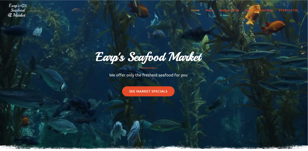 SSP Agency Earp's Seafood Market case study